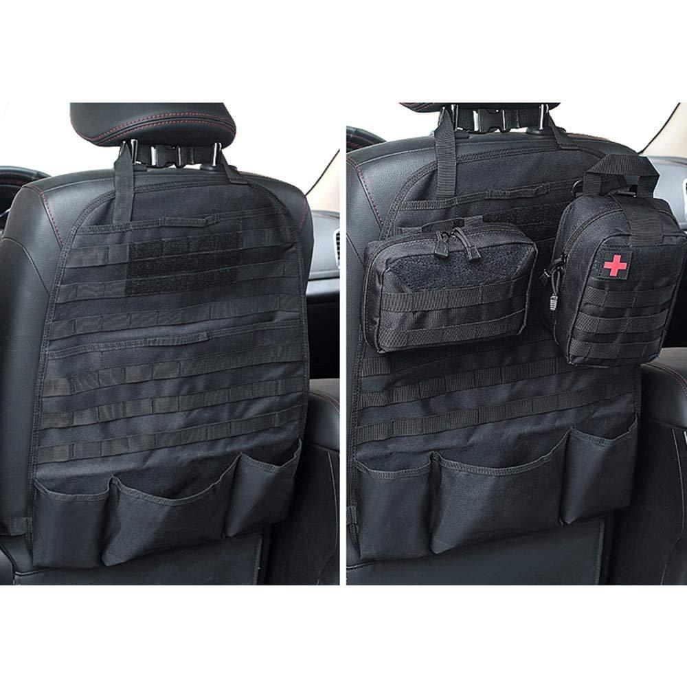 LIVIQILY Front Seat Storage Gun Sling Bag Car Seat Back Hunting Gun Holsters Pistols Organizer with Pockets 61i50pYhDwL