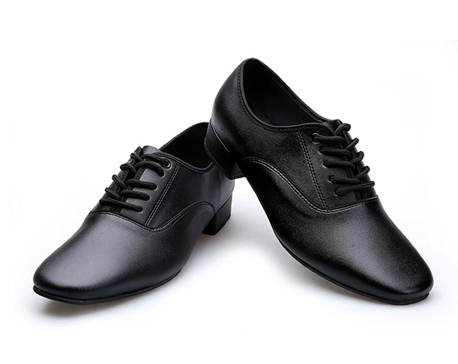 Miyoopark KBTS004 Mens Lace Up Leather Latin Salsa Tango Wedding Shoes