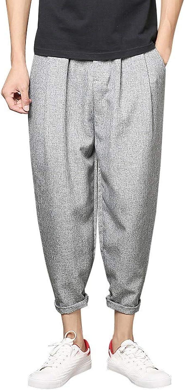 Sasstaids pantalones Pantalones Hombre Casual Hombre AlgodóN con ...