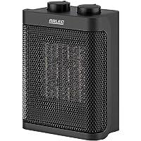 Arlec 1500W Ceramic Fan Heater With Adjustable Thermostat - CEH150BK