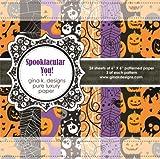 Gina K. Designs 6 X 6 Patterned Paper Pack - Spooktacular You