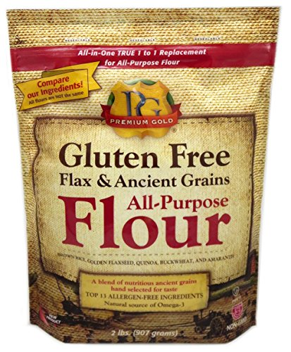 Premium Gold AllPurpose Flour Flax and Whole Grain 2 Pound