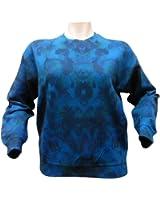 H&j Womens Multi Geometric Printed Sweatshirt