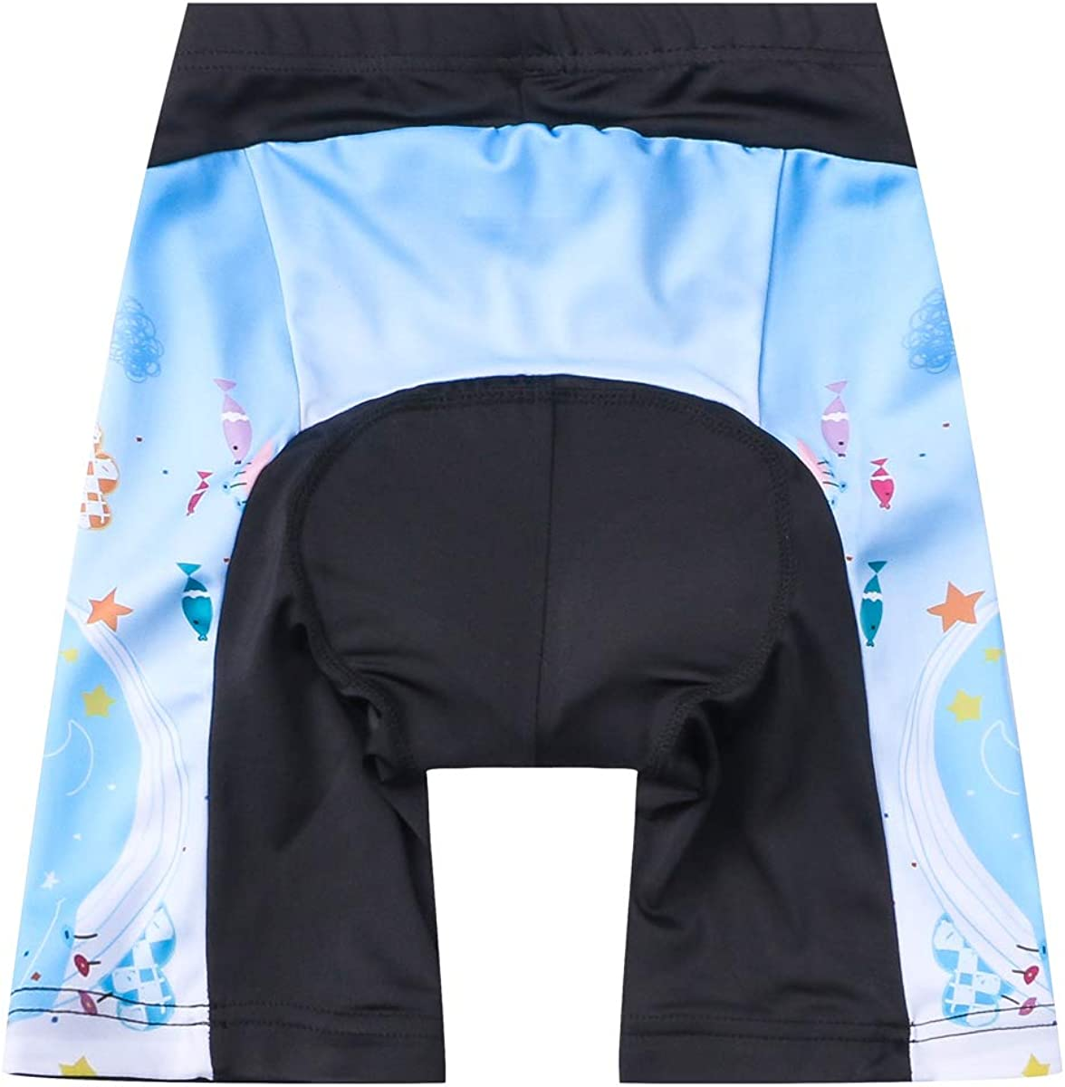 Children Cycling Bike Shorts Bicycle Riding Half Pants 3D Gel Padded Cycle Wear Tights