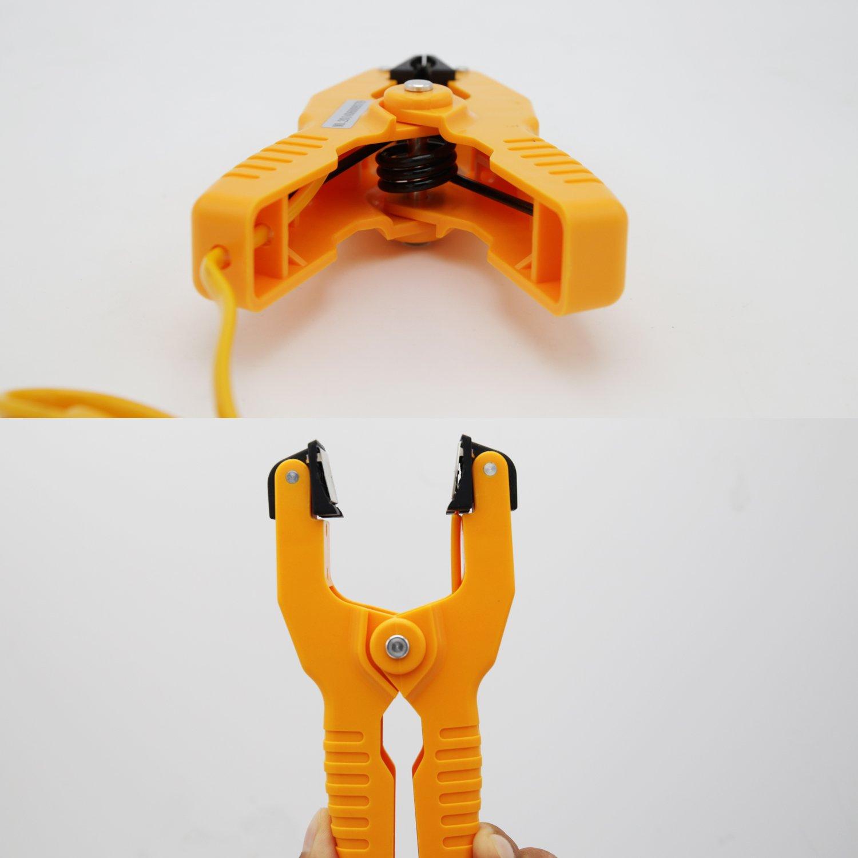 -40~200 /°C Measures temperature range -40~392 /°F Pipe Clamp K-Type Thermocouple Probe ,Yellow,Hti-Xintai