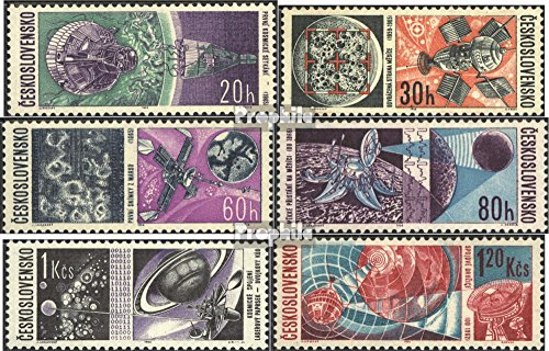Czechoslovakia 1651-1656 (Complete.Issue.) 1966 Space (Stamps for Collectors) Space