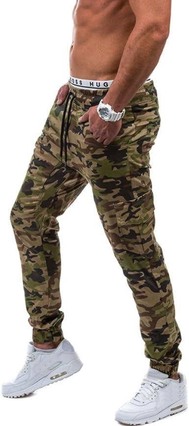 YUTING Pantalones de chándal Sueltos Ocasionales de la Aptitud ...