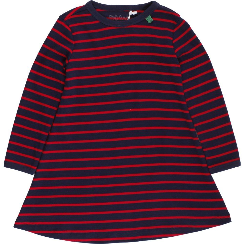 Fred's World by Green Cotton Baby-Mädchen Kleid Stripe L/Sl Dress 1552034800