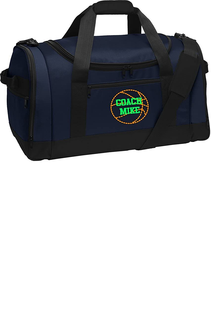 Personalized Basketball Voyager Sports Duffel Bag