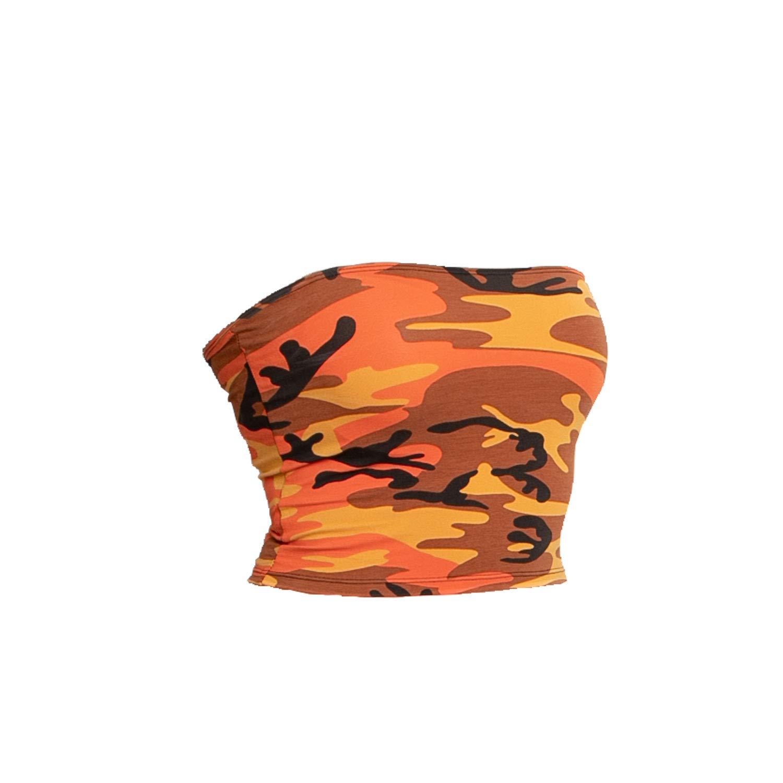 ac6953b2b2 Amazon.com  Rothco Women s Tube Top  Clothing