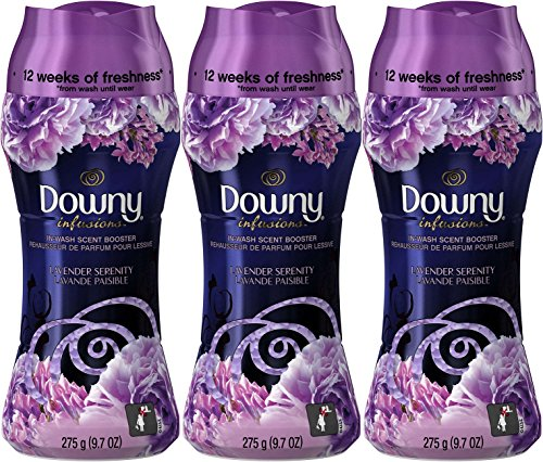Serenity Lavender - Downy Infusions In-Wash Scent Booster Beads, Lavender Serenity, 9.7 Ounce (Pack of 3)