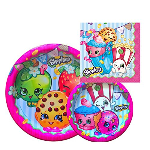BirthdayExpress Shopkins Party Pack For 16