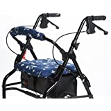 RMS Walker Seat & Rollbar Cover Set (Blue Star)
