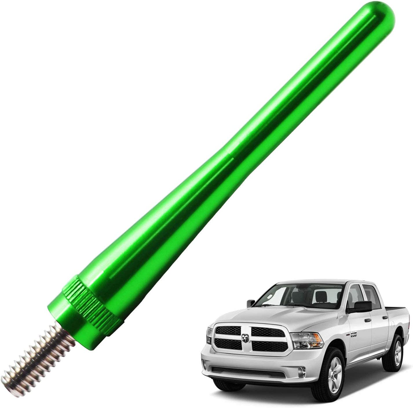 JAPower Antenna Replacement Fit for Dodge RAM 1500 2012-2018 Vehicles 3.2 inches-Blue