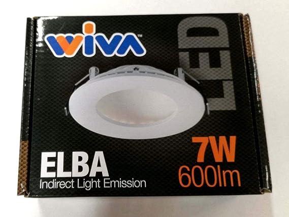 Wiva Lighting/ /Faretto WL elba-rd fisso 16/W WW WFL Bianco