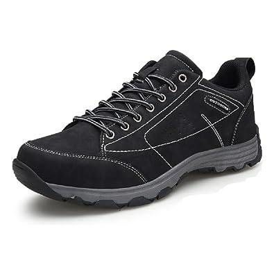 Hombre Zapatillas Trekking, Senderismo Impermeables Verano Deportivas Deporte Zapatos Montaña Running Negro Marrón 39-46 BK39: Amazon.es: Zapatos y ...