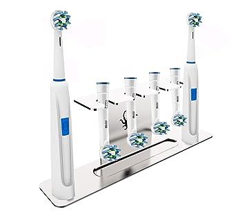 e060fa3b67db77 OCTOPODIS - Porte Brosse à Dents et têtes de Brosse à Dents electriques  Oralb en Acier