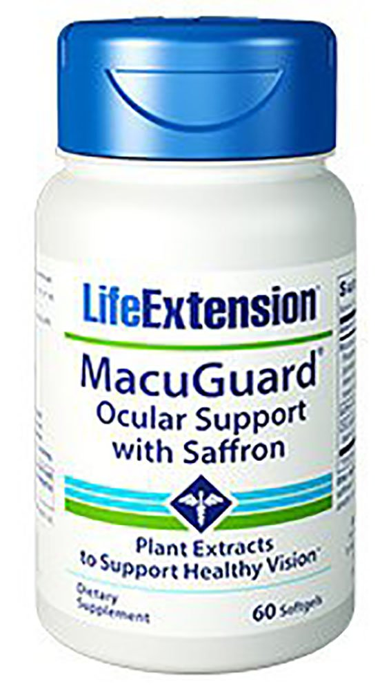 Life Extension Macuguard Ocular Support, 60 Softgels (2 Pack)