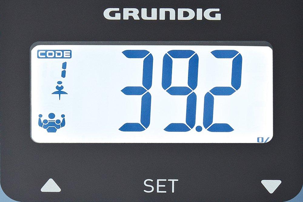 Grundig PS 6610 BT Bluetooth de cuerpo Báscula de análisis, Azul: Amazon.es: Salud y cuidado personal