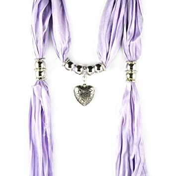 Charms heart pendant scarf fashion ladies jewellery scarves necklace charms heart pendant scarf fashion ladies jewellery scarves necklace nl 1802 d aloadofball Gallery