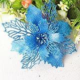 AMOFINY Home Decor Romantic Rosette Hanging Charm Party Decorationation Christmas Tree Ornament Flower