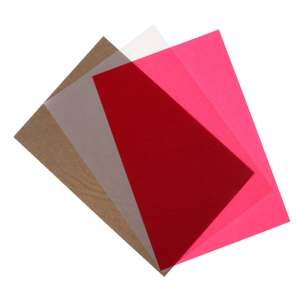 perfk 50 Sheets Colored Translucent Vellum Papers for DIY Craft ...