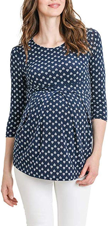 UK Femmes Enceintes Vêtements De Maternité Nursing Tops maman allaitement T-shirt Top