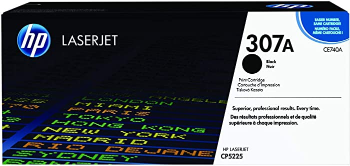 HP 307A | CE740A | Toner Cartridge | Black