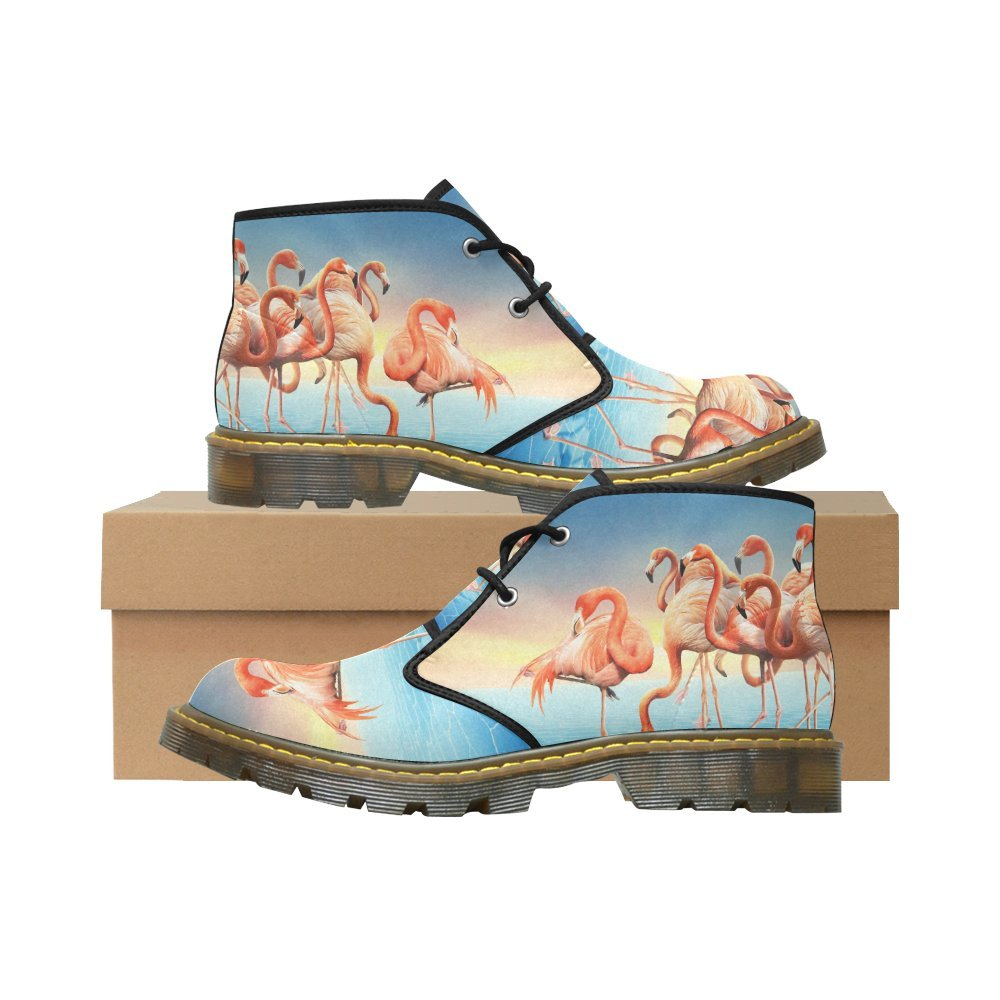 Artsadd Unique Debora Custom Women's Nubuck Chukka Boots Ankle Short Booties B0795KZ2CG 9 B(M) US|Multicolored24