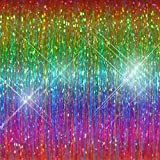 "Hair Flairs Pro Hair Tinsel - 100 Strands, 36"", Sparkle Kaleidoscope"