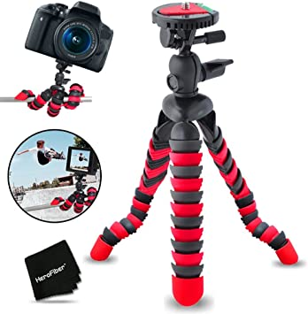 "12/"" Flexible Tripod for Nikon D3100 D3200 D5300 D5200 D5100 D7000 D7100 D90"