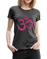 Yoga Om Zeichen Aum Meditation Mehndi Frauen Premium T-Shirt von Spreadshirt®