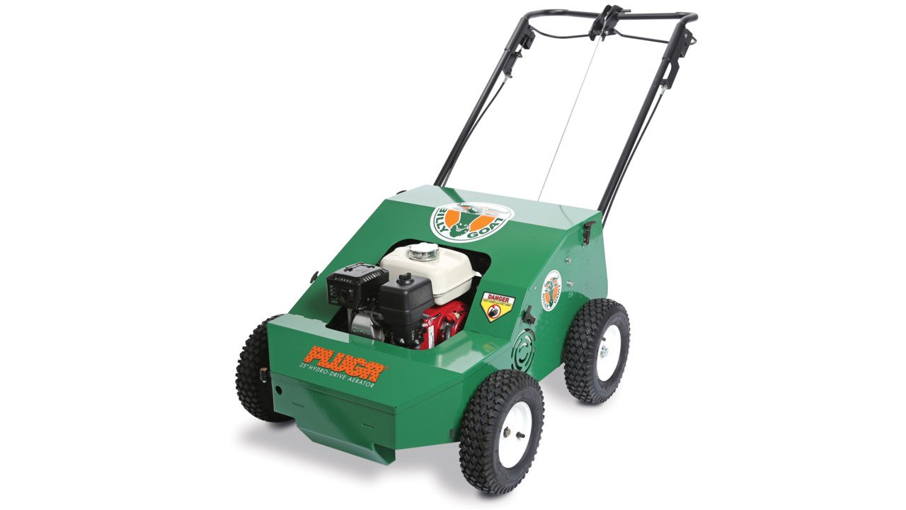 Bon Tool 37-553 Billy Goat PL2500SPH 25 in. Reciprocating Aerator, Hydro Drive, With Honda Power