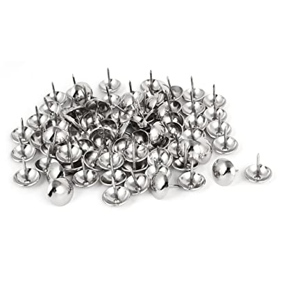 Uxcell 19mm Dia Stainless Steel Upholstery Tack Nail Decorative