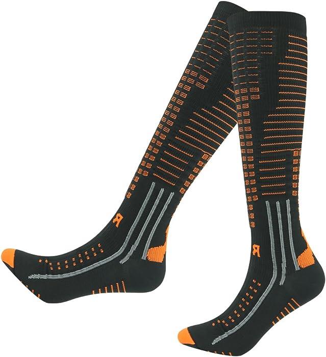 6e72e6b3167 Amazon.com  RANDY SUN Women and Men Knee Long Compression Sock Best ...