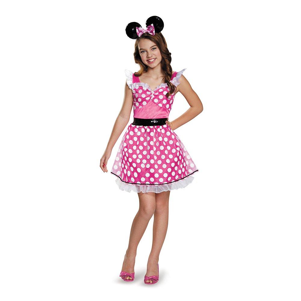 Disguise 85585G Pink Minnie Teen/Tween Costume, Large (10-12)