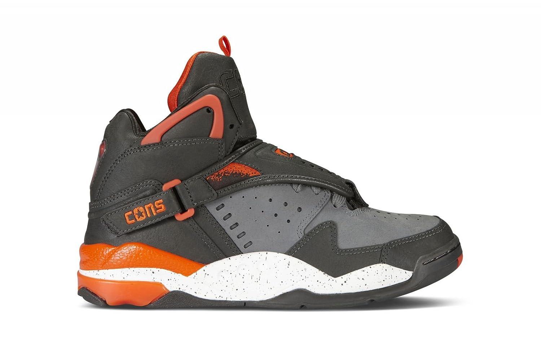 ba14cac6467e Converse cons aero jam larry johnson retro grey orange shoes handbags jpg  1500x1000 Converse react juice