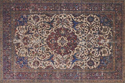 Loloi Rugs, Loren Collection - Sand / Multi Area Rug, 5' x (Sand Multi Area Rug)