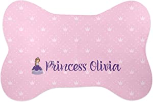 YouCustomizeIt Custom Princess Bone Shaped Dog Food Mat (Small) (Personalized)
