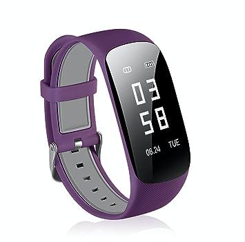 gimtvtion Z17 Bluetooth 4.0 pulsera, desbloqueado reloj teléfono celular con Passometer ritmo cardíaco Tracker reloj