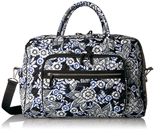 Vera Bradley Women's Iconic Weekender Travel Bag-Signature by Vera Bradley