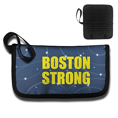 well-wreapped Boston Strong Travel Wallet Passport Holder Document Organizer