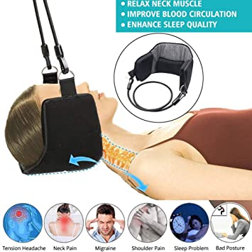Massage New Relaxation Cervical Traction Belt Hammock For Head Neck Shoulder Pain Relief Making Things Convenient For Customers