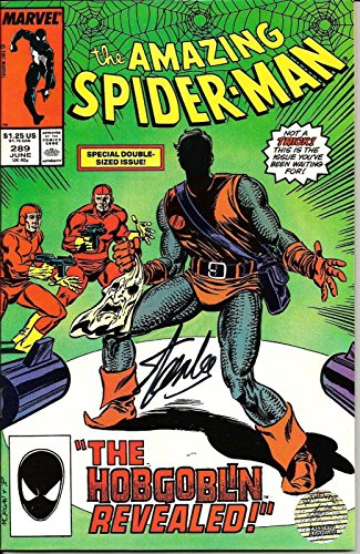 Stan Lee Signed Marvel The Amazing Spiderman #289 Comic w/ Stan Lee Ho
