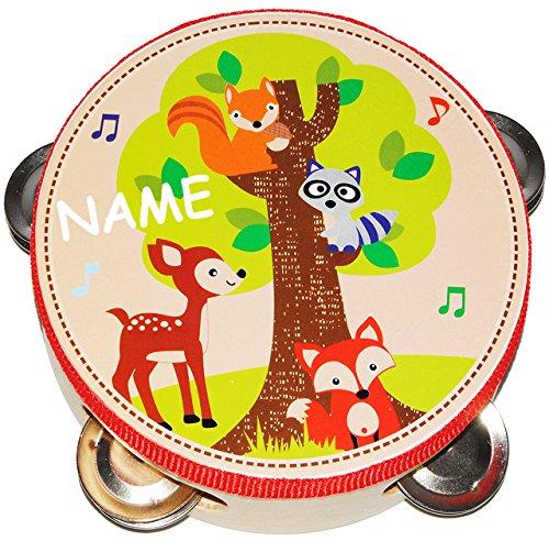 Tamburin - aus Holz -