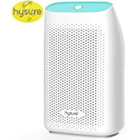 Hysure Small Dehumidifier 700ml Powerful Dehumidifier Compact for Home with Semiconductor Technology Portable Electric Dehumidifiers for Damp Air, Mold, Moisture in Home, Bathroom, Kitchen, Garage, Caravan and Office