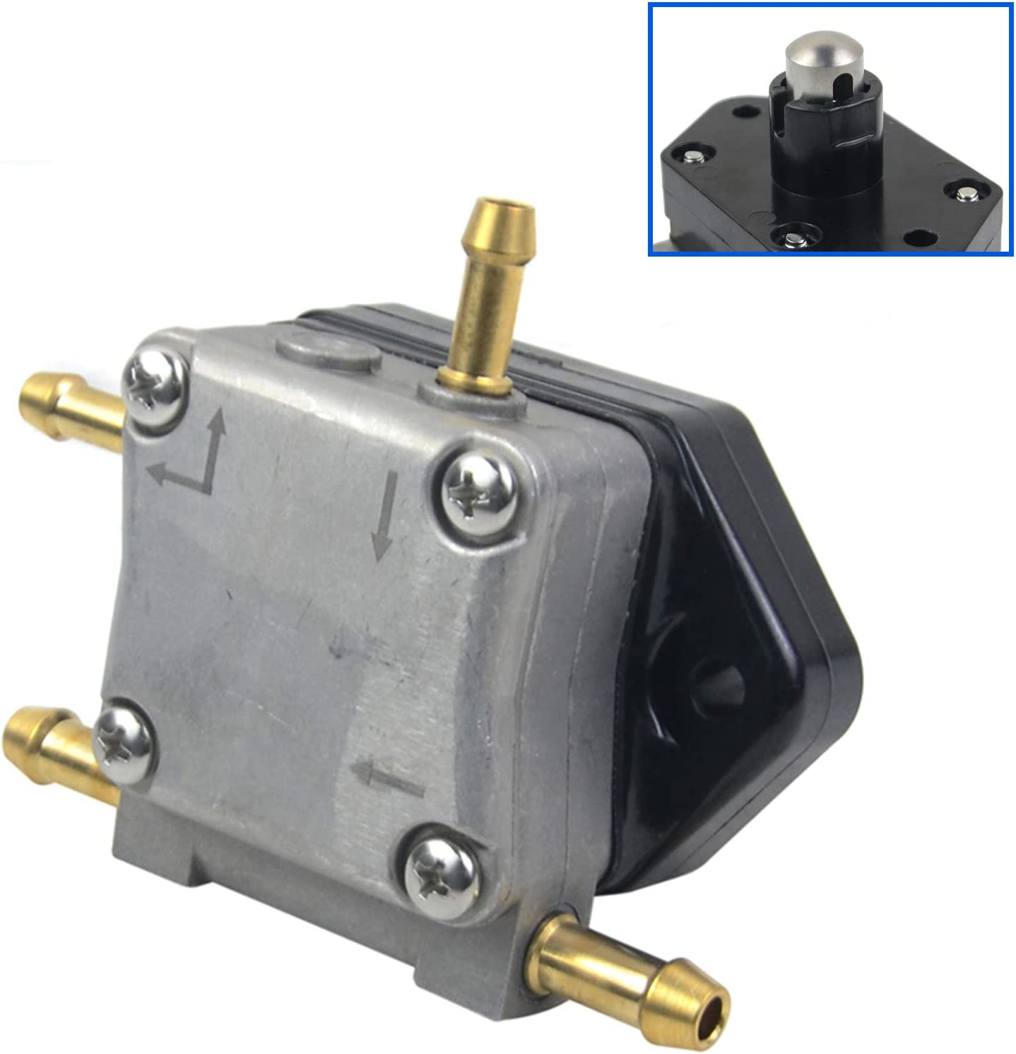 Watlike 18-8866 Fuel Pump for Mer-cury 4 Stroke Outboard 30HP 40HP 50HP 60HP Engine 8M0118177 892874T01 899106T01 881862T