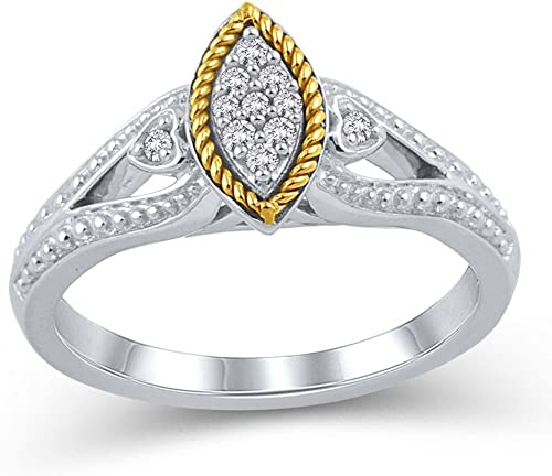 1//10 cttw, Size-9.75 G-H,I2-I3 Diamond Fashion Mens Ring in Sterling Silver