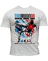 Dirty Ray Taekwondo t-shirt homme DT16