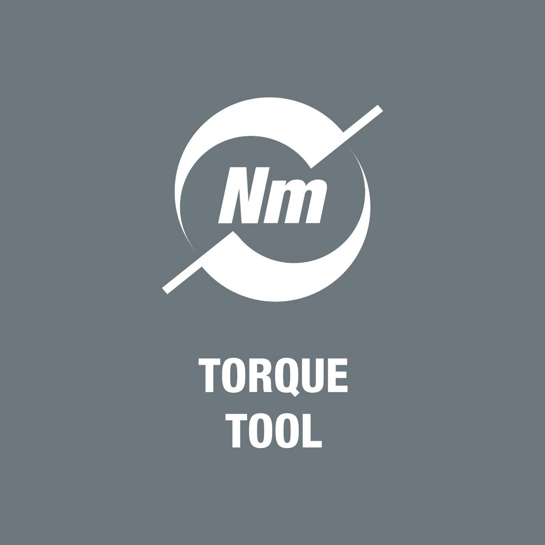 1//4 pouce 0,10-0,34 Nm Tournevis dynamom/étrique r/églable avec mandrin /à serrage rapide Rapidaptor 7430 Kraftform